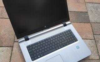 HP Probook 470 G3. Hogy a GTA V se akadozzon